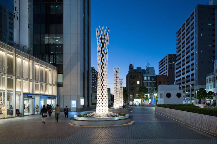 SPIRAL TREE -M PLAZA RENOVATION-